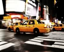 Obraz 000106 New York Yellow Cab