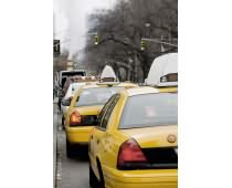 Obraz 000110 New York Yellow Cab Rush