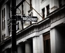 Obraz 00047 New York BW Broadway Sing