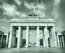 Obraz 00094 Berlin BW Brandenburg Gate