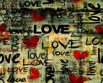 Obraz ABC-0266 Love Wall