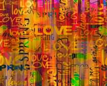 Obraz ABC-0267 Love Wall