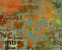 Obraz ABC-0268 Love Wall