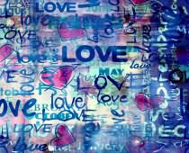 Obraz ABC-0269 Love Wall