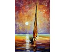 Obraz SOA-0125 Gold Sails